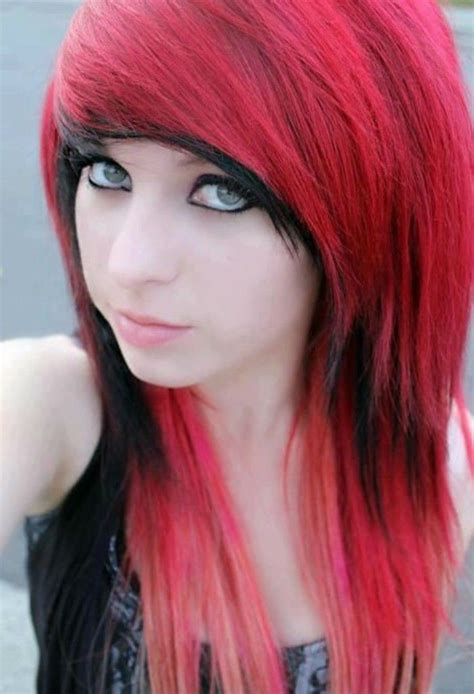photos of emo haircut fo women with large noises emo medium hair with bangs hairstyles pinterest