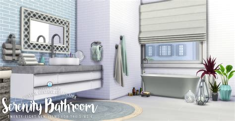 serenity bathrooms simsational designs updated serenity bathroom set