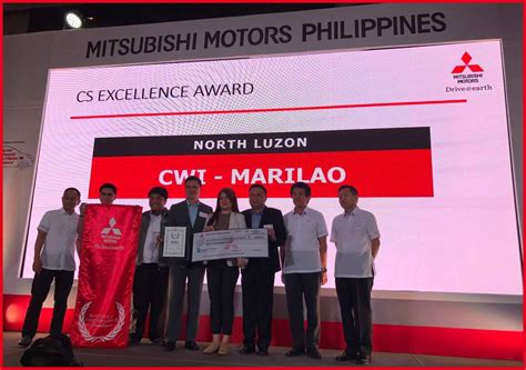 mitsubishi customer service excellence elite circle 2016