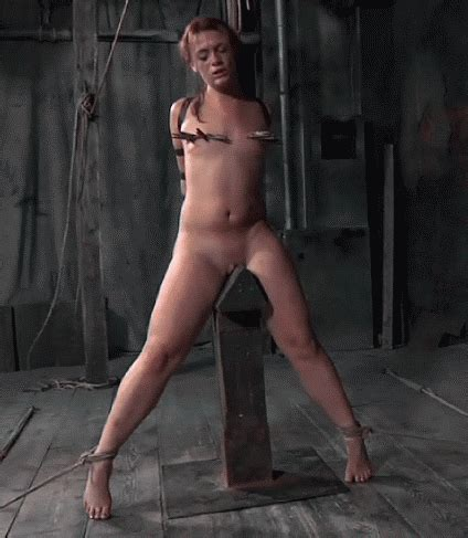 Punishment On A Wooden Pony Source Yes Bondage