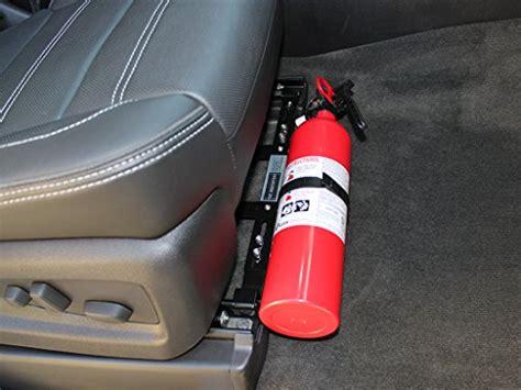 Vans California Abu Premium car extinguisher bracket universal design fits most