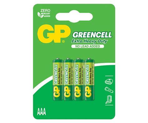 Gp Batteries Aaa Green Cell gp batteries international gp greencell carbon zinc aaa