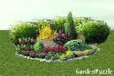 Landscape Island Design Ideas Garden Designs Tagged Spiraea Gardenpuzzle Online
