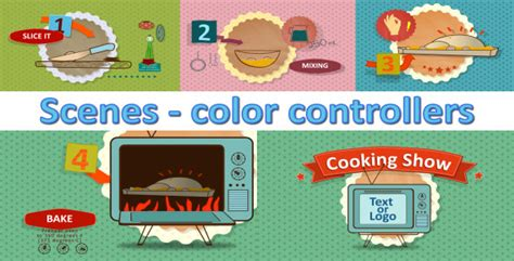 Cooking Show Template Cooking Show Intro Graphic Animated Wallpaper