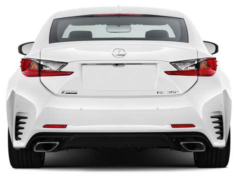 lexus 2 door coupe 2012 image 2015 lexus rc 350 2 door coupe awd rear exterior