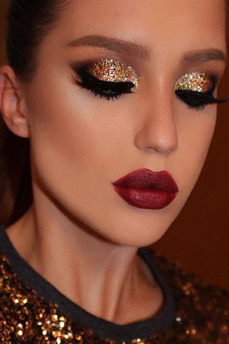 christmas party makeup ideas for girls women 2016