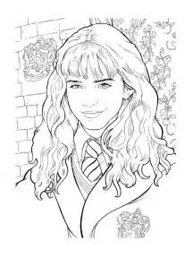 free hermione granger coloring pages