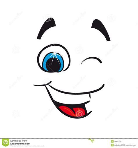 imagenes ojos alegres caricatura alegre ejemplo del vector foto de archivo