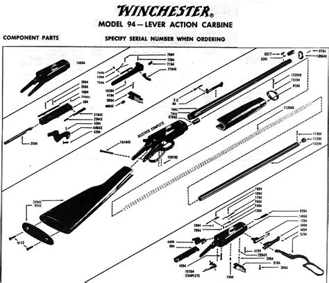 winchester 1894 parts diagram winchester 1894 parts picture