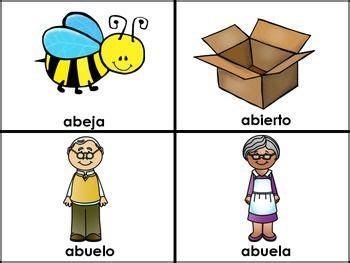 imagenes que empiecen co la letra i letra a las vocales spanish flashcards for the letter