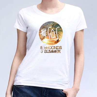 Tshirt 5 Second Of Summer 6 5 seconds of summer 5sos rock band type t