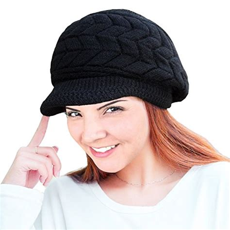 loritta womens winter warm knitted hats slouchy wool