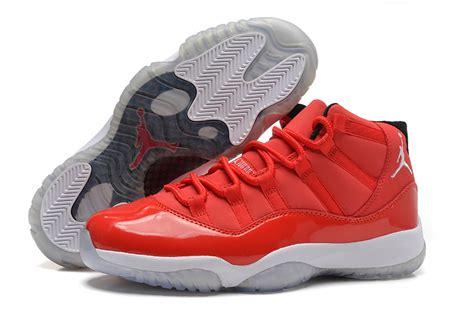 Nike Air 11 Retro High Blackwhitered nike air 11 retro shoes for high white black