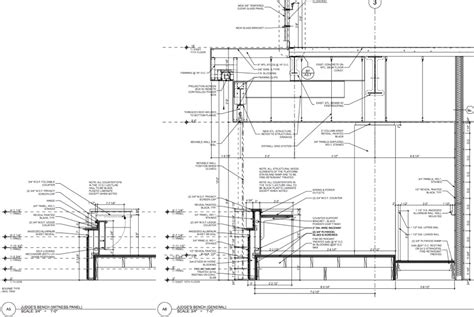 millwork section creative process commercial residential architecture