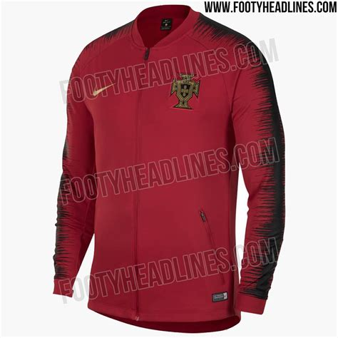 stunning portugal 2018 world cup anthem jacket leaked