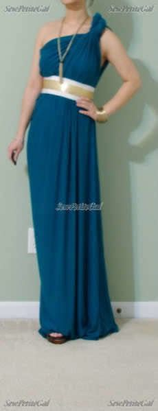 diy draped dress easy draped maxi dress diy tutorial 183 how to make a one