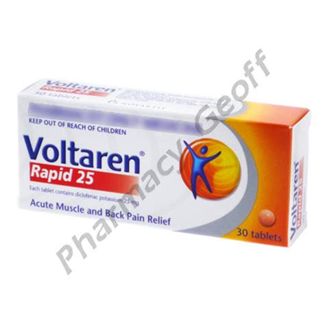 Obat Cataflam 50 Mg Diclofenac Potassium voltaren rapid diclofenac potassium 25mg 30 tablets