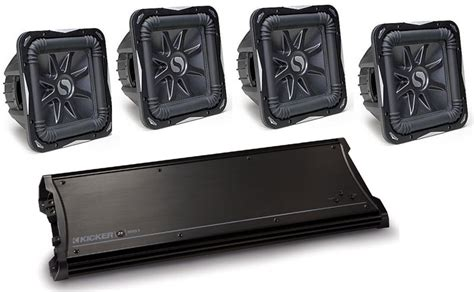 Kicker Zx2500 1 kicker car audio zx2500 1 class d lifier four s12l7