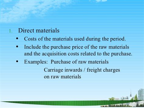 Kelley Direct Mba Course Materials Cost by Manufacturing Account Ppt Mba Finance