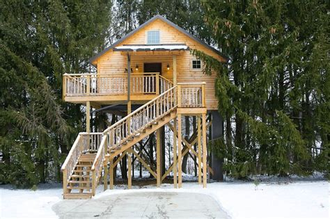 amish country tree house cabins amishcountrylodging
