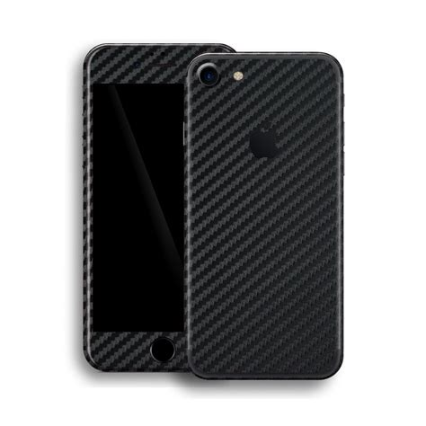 Iphone 7 Carbon iphone 7 3d black carbon fibre skin wrap decal easyskinz
