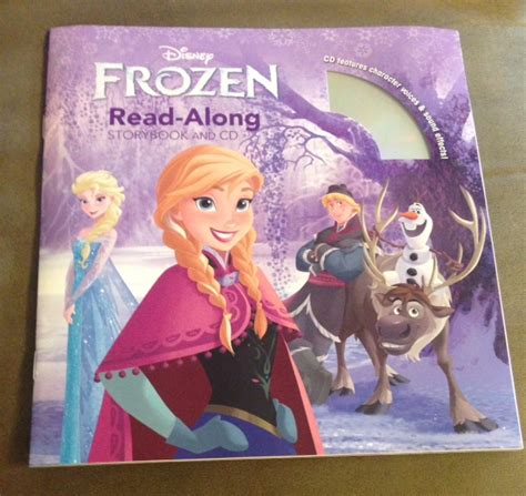 printable frozen storybook good deal on disney frozen read along storybook cd who