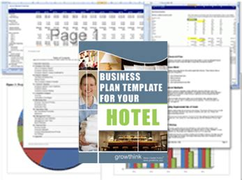 growthink s ultimate business plan template hotel business plan template growthink s ultimate