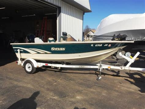 sylvan aluminum boats for sale sylvan 17 boats for sale