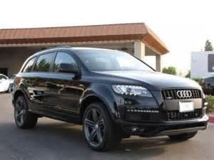 2013 Audi Q7 S Line Prestige Export New 2013 Audi Q7 S Line Prestige Black On Black