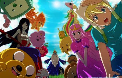 Adventure Time Iphone All Semua Hp 3 обои adventure time время приключений марселин фин джейк картинки на рабочий стол раздел