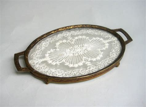 Vanity Tray For Dresser by Antique Vanity Tray Vanity Tray With Lace Antique Dresser
