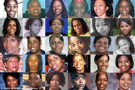 Reports that almost 40 per cent of those missing are african american