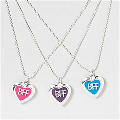 My Items From Claires 3 by Free Three Bff Bright Lockets From Claires