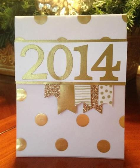 New Year Card Handmade - handmade new year greeting cards 2016 pink lover