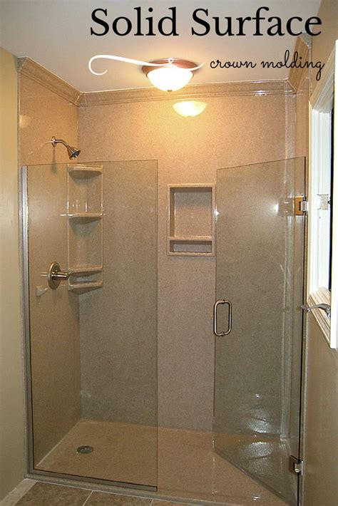solid surface shower how to choose the right accessories for a solid surface