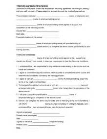Employee Contract Template Uk by Employee Agreement Template Freewordtemplates Net