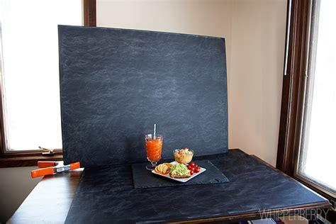 Cabana House diy faux slate chalkboard photo background whipperberry