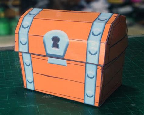 Papercraft Treasure Chest - clash royale chest free papercraft