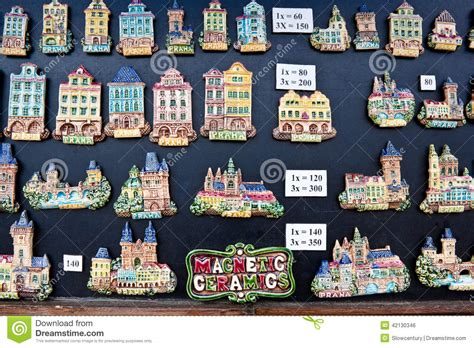 Free Architectural House Plans souvenir magnets in prague editorial photo image 42130346