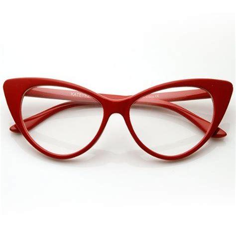 cat eye glasses vintage inspired mod