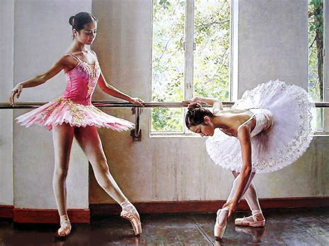 imagenes de bailarinas urbanas delicadas bailarinas de ballet hermosas pinturas al 211 leo
