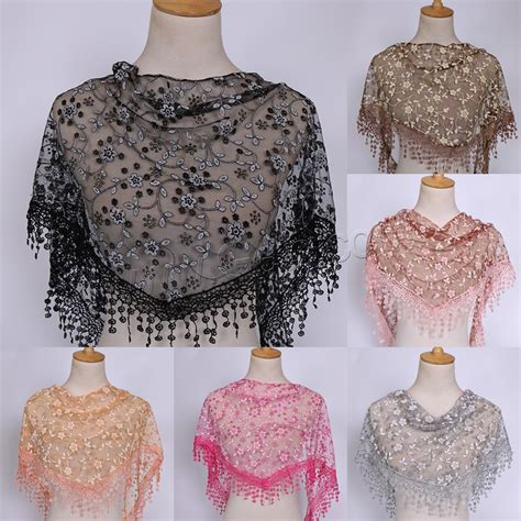 home design group spólka cywilna lace triangle scarf shawl wholesale fashion scarf lace