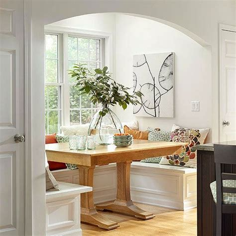 Kitchen With Breakfast Nook Designs | breakfast nook ideas hidden storage nooks and breakfast