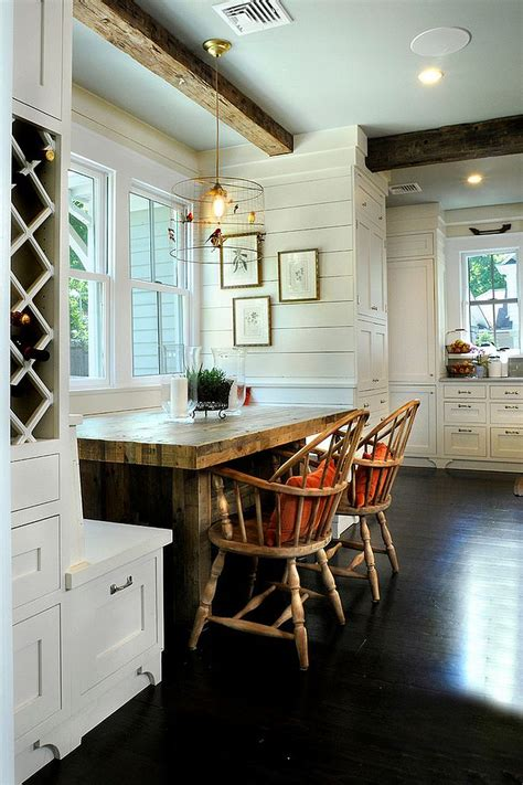 How To Make Dining Room Chairs 30 Unassumingly Chic Farmhouse Style Dining Room Ideas