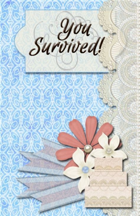 Wedding Congratulations For Coworker by A Congratulations You Survived Your Daughters Wedding Card