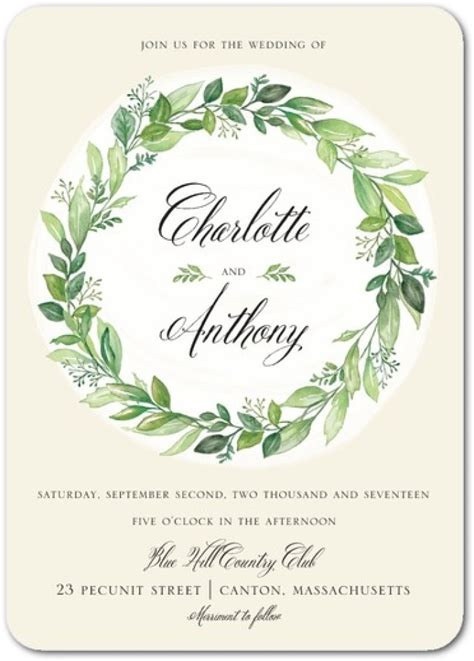 Wedding Invitation Paper by Greenery Wedding Stationery Ways To Rock Your Greenery