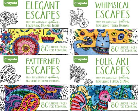 coloring books for adults crayola crayola coloring books are here to stay