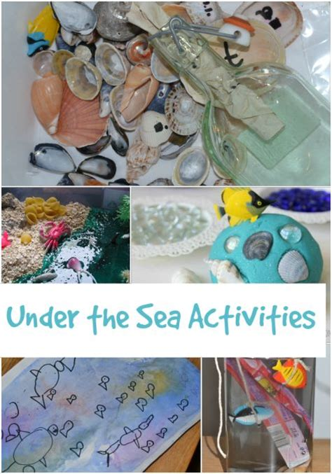 kindergarten activities under the sea the 14 best images about early years seaside on pinterest