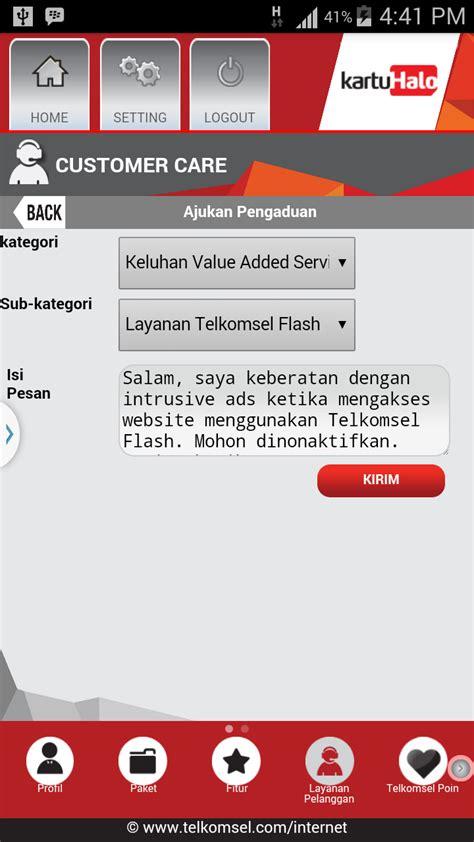 email pengaduan telkomsel wahyu wijanarko id menghilangkan iklan intrusive