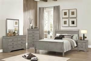 Gray Bedroom Furniture by Gray Bedroom Set The Furniture Shack Discount